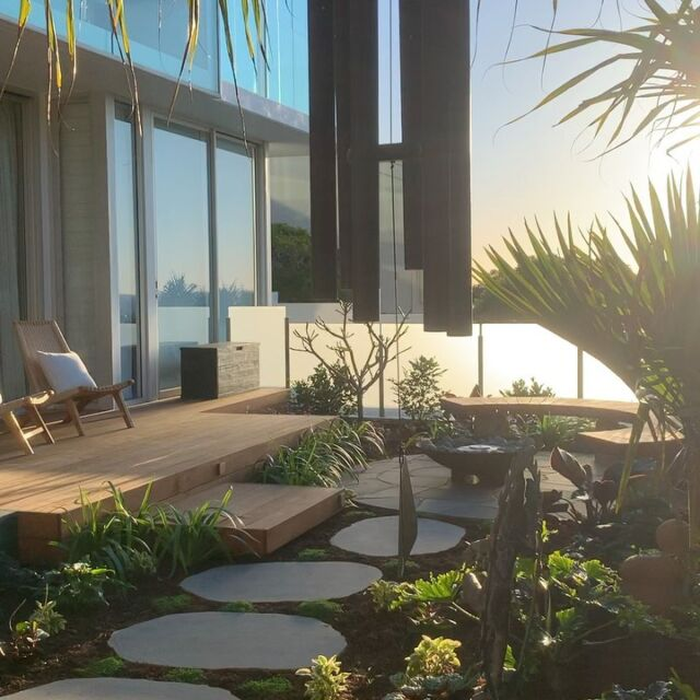 What a beautiful sanctuary our crew have created in Sunshine Beach. An early site visit here is an absolute pleasure.