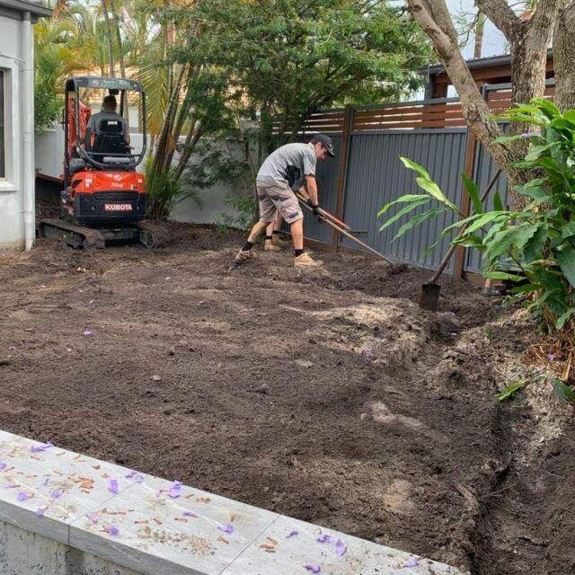 Plenty of progress at our latest Noosa Waters project despite the rain.